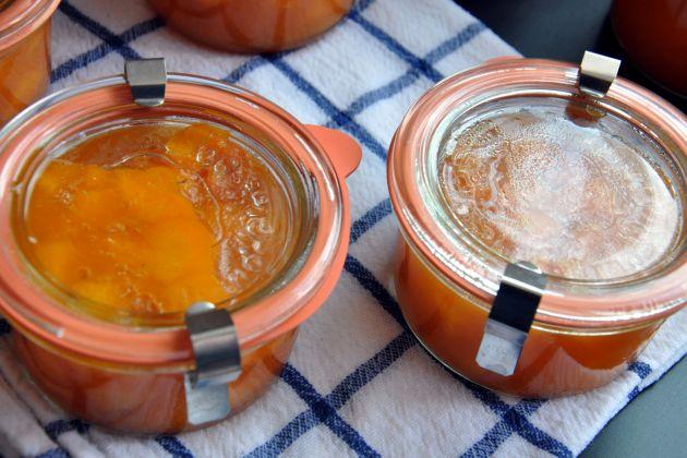 Meruňková marmeláda s citrusovým pektinem a minimem cukru