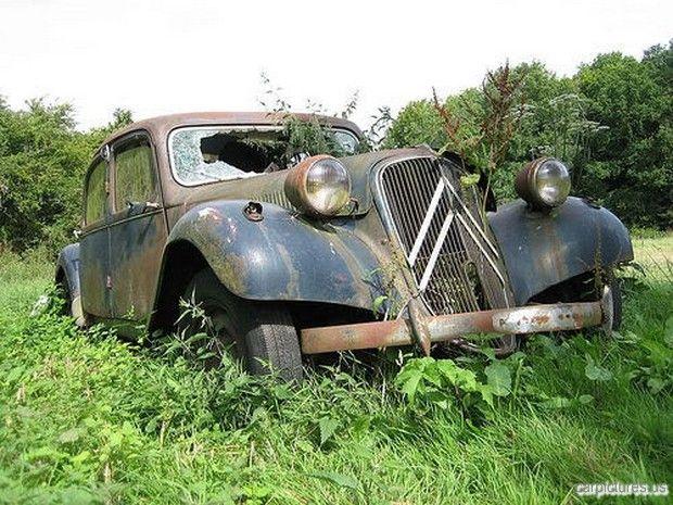 Abandoned Citroen