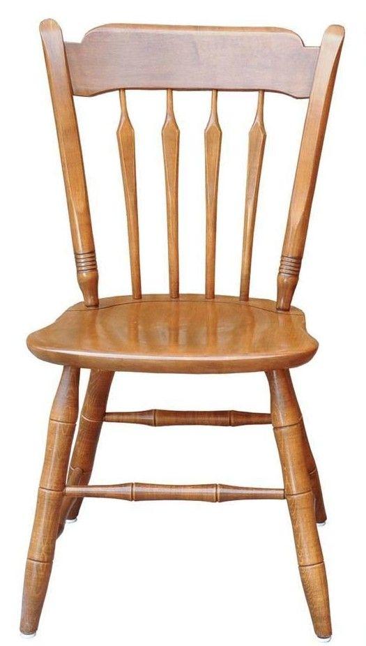 Ethan Allen maple arrow back desk chair  Furniture  Pinterest