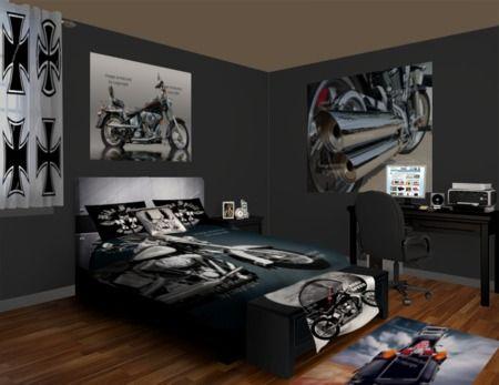 motorcyclebedroomdecorideas motorcyclebeddingideas