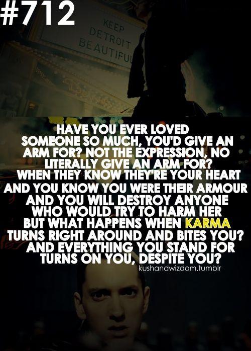 -Eminem: When I'm gone
