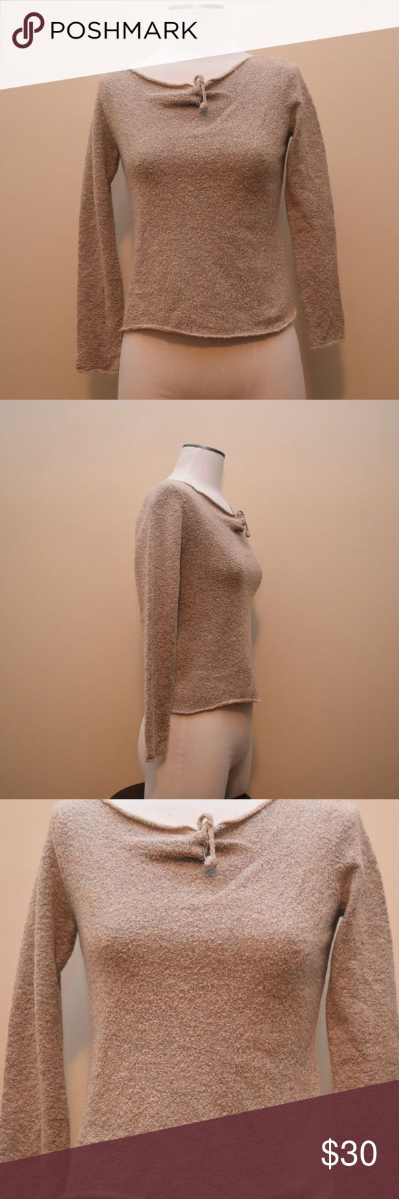 J. Jill Wool Long Sleeve Shirt This super chic J. Jill long sleeve is so ideal for any season! Even those summer nights when its chilly this perfect top will go with sweats, jeans, leggings, etc! The pin covered in Wool completely makes the top, adding more depth to it! Must have, ladies! 💌📦SAME DAY SHIPPING📦💌 ⭐️⭐️5 STAR RATINGS⭐️⭐️ ❤️🛍PACKAGED WITH LOVE🛍❤️ J. Jill Tops Tees - Long Sleeve