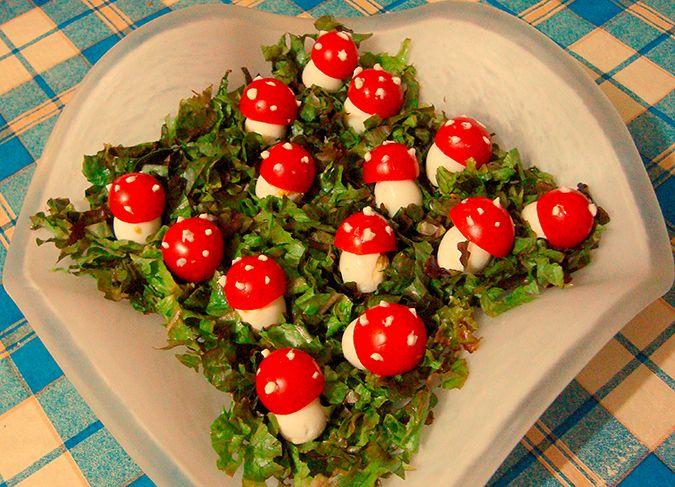 свое время салат мухомор рецепт с фото уменьшите