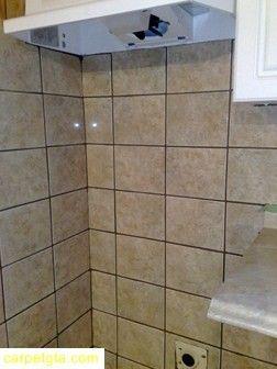 Tile renovations in shower spaces, bathroom walls, ceilings, and flooring