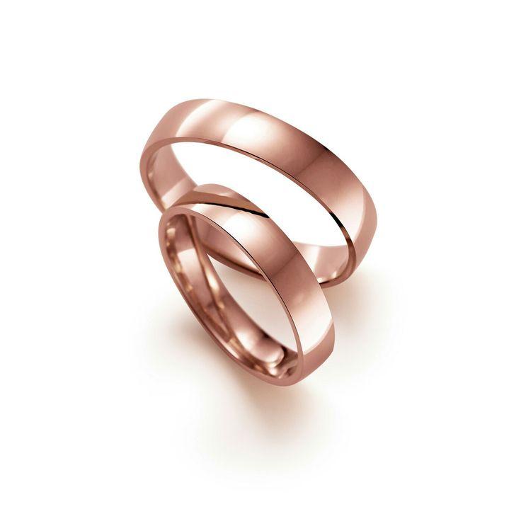 Suositut rosekultaiset kihlat. Popular rose gold engagement rings.