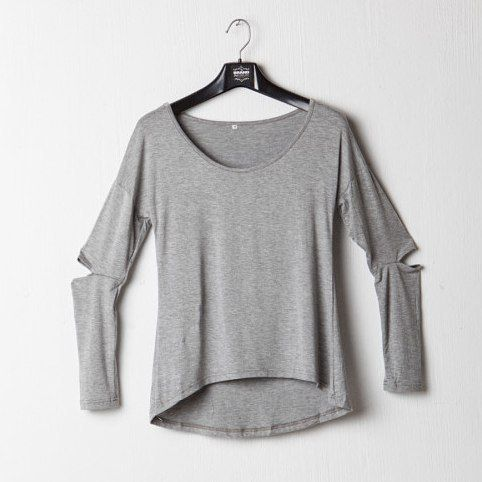 Outsiders Long Sleeve Shirt Available in grey and black. R120  #retro #grunge #baggytop #chill #comfy #onlineshopping #lazydays