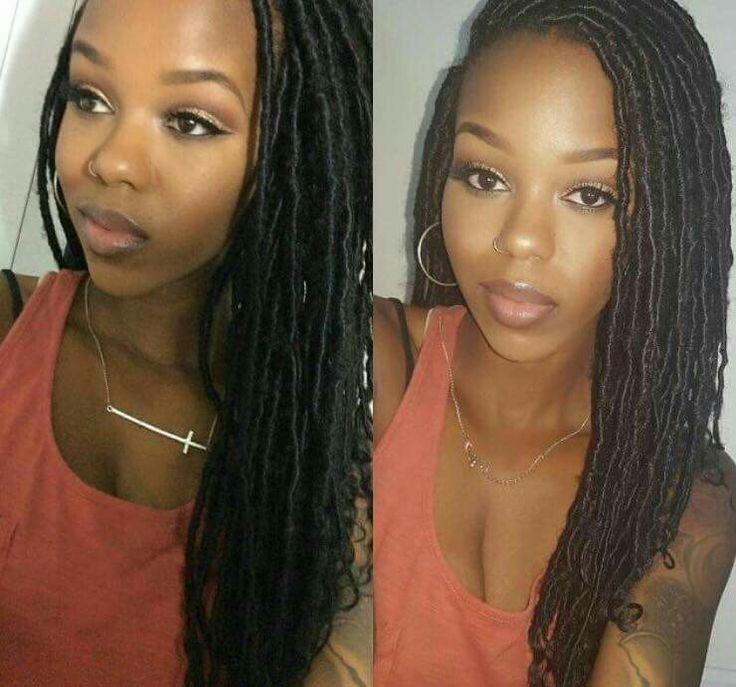 Her locs are GORGEOUS!