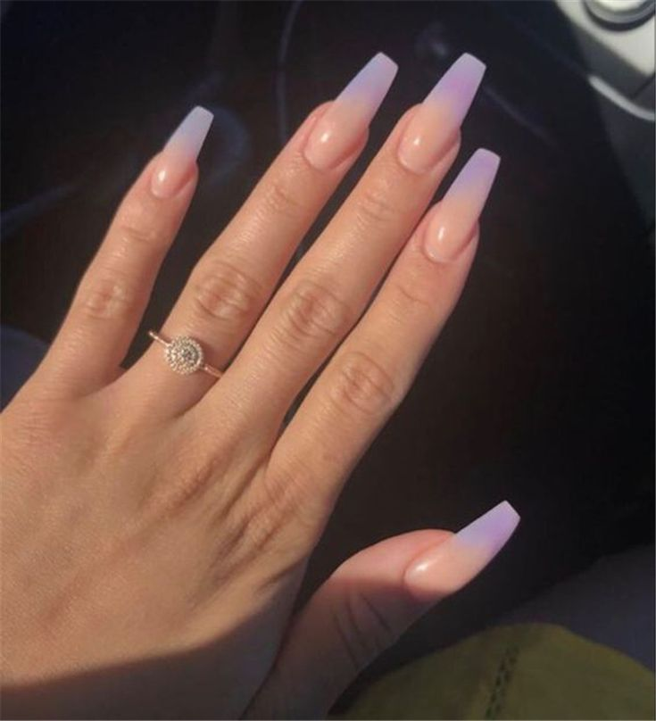 75 The Most Beautiful Ombre Acrylic Nails Designs You'll Like – Page 9 of 75