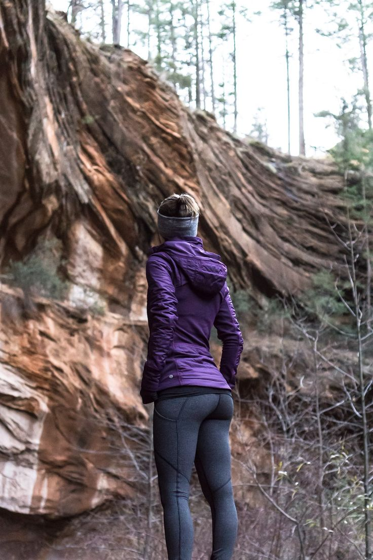 Lululemon cold weather hiking outfit