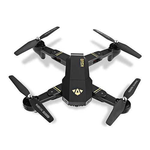 Este drone plegable aparece entre las opciones baratas con cámara interesantes por varias razones: viene con un esquema de control G sensor, lo qué significa que es mucho más fácil maniobrar en el aire. Sin embargo, en condiciones de mucho viento podría arrastrarlo un poco en sentido contrario al vuelo. Posee una función One key …