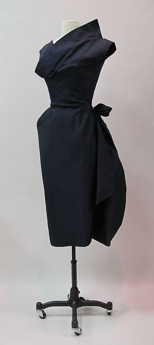 Cocktail dress, Charles James, 1953-54, silk. -The Metropolitan Museum of Art