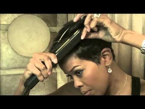 Malinda Williams' Mane Taming #1- Sexy Red Carpet Hair Style