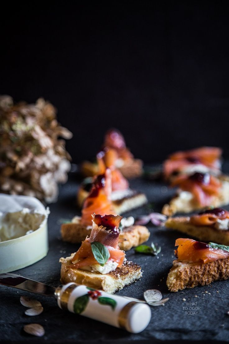 1000 ideas about salmon canapes on pinterest smoked for Salmon canape ideas