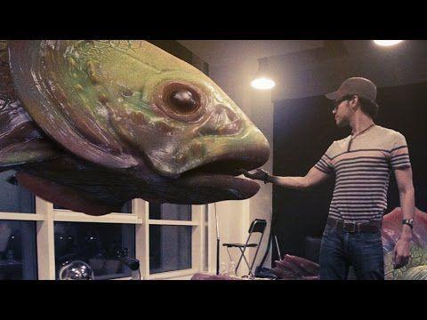 fish vfx matchmoving practise