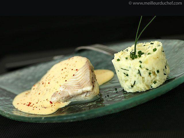 Filet de turbot au sabayon de champagne recipe cuisine au champagne recette poisson - Cuisine au champagne ...