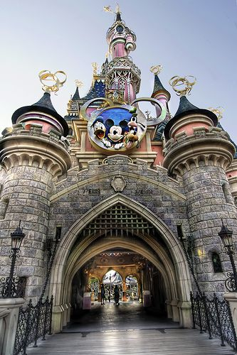 EuroDisney Paris, France. If I ever get to Paris, this is on my must do list!