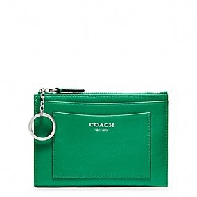 LEGACY LEATHER MEDIUM SKINNY This wallet is just tooo perfect! $68, coach.com