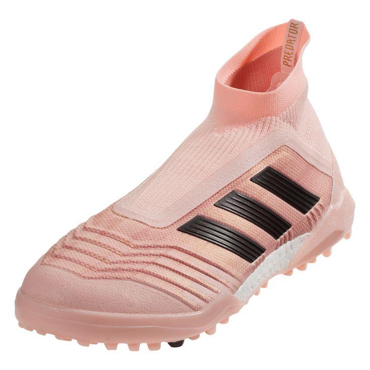 d39b6a026d8d adidas predator tango 18+ tf artificial turf soccer shoe clear orange core  black trace pink
