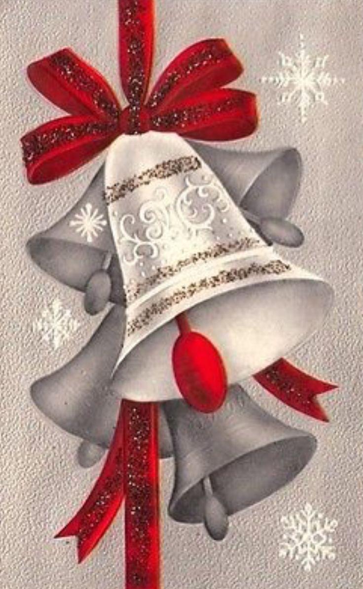 Best vintage christmas cards images on pinterest