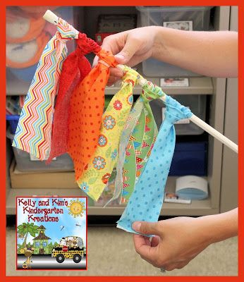 DIY Classroom Curtains tutorial from Kelly and Kim's Kreations