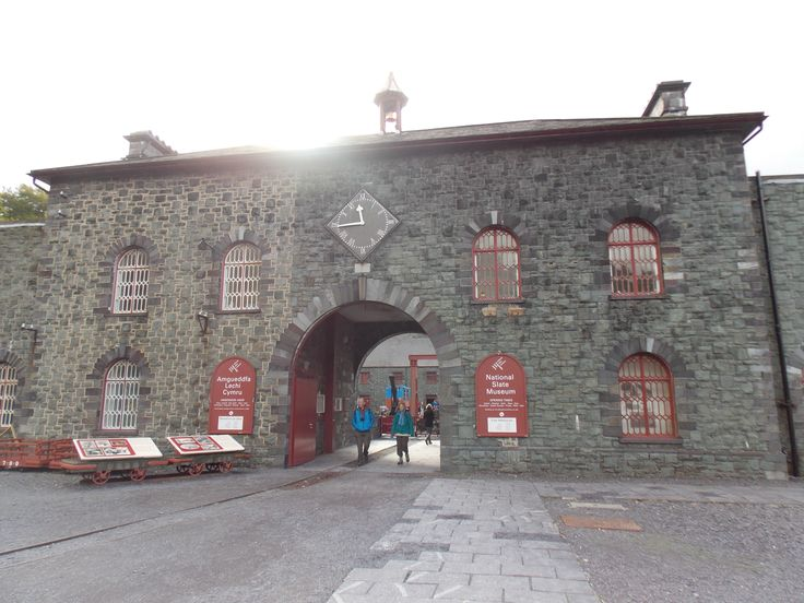 slate museum, Llanberis-tour of North Wales