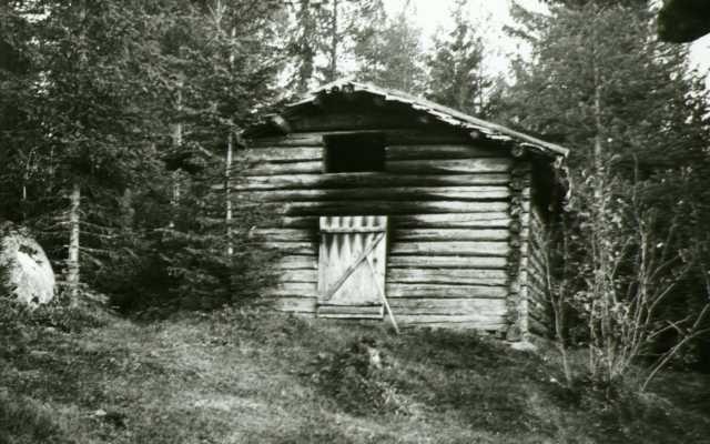 Badstu, Sæterbakken, Grue Finnskog, Grue, Hedmark.