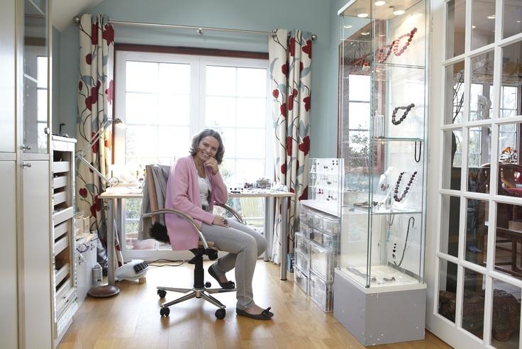 Uli Kaiser, jeweller, Surrey Open Studios member