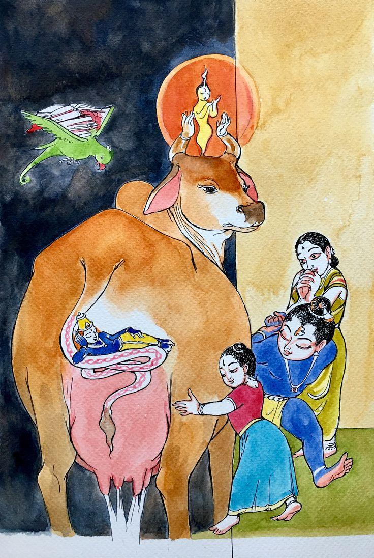 Kalyana Gunas and the avatars: Tiruppavai notes 21 #krishnafortoday