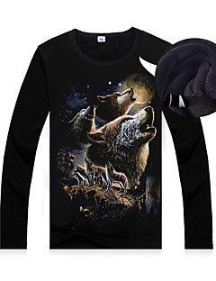 Zhengmao mannen met lange mouwen katoenen t-shirts – EUR € 19.99