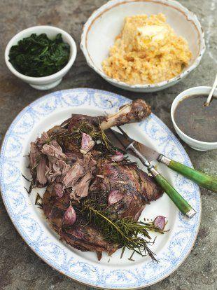 Roasted Shoulder of Lamb   Lamb Recipes   Jamie Oliver Recipes