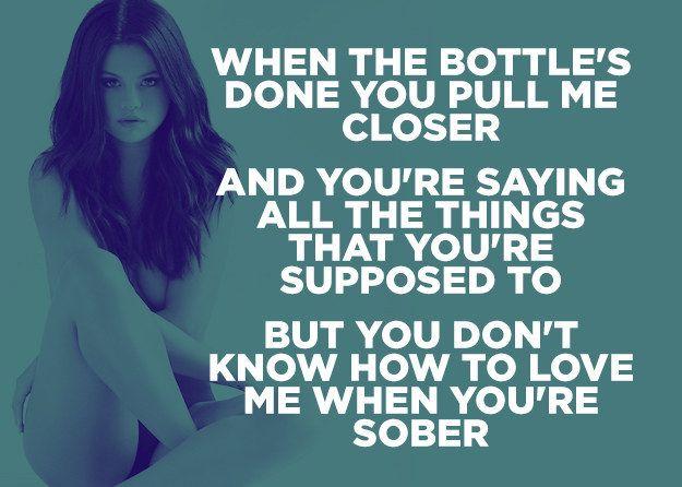 25+ best ideas about Selena gomez songs lyrics on Pinterest | Selena lyrics, Songs of selena ...