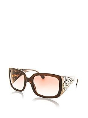 Roberto Cavalli Women's RC804S Designer Sunglasses, Dark Brown