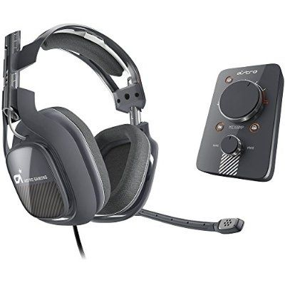 awesome ASTRO Gaming A40 and MixAmp Pro PS4 - Black/Grey - For Sale