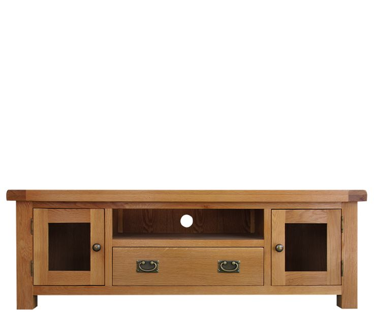 Bringy Furniture - Orkney Oak Large TV Unit with Glazed Doors, £307.00 (http://www.bringyfurniture.co.uk/orkney-oak-large-tv-unit-with-glazed-doors/)