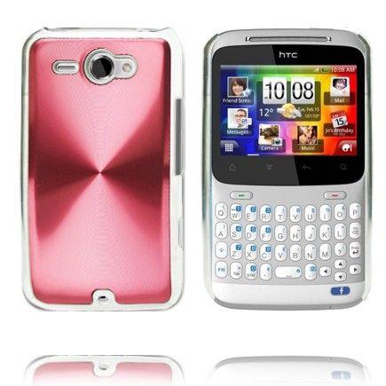 Alumiini Suojus (Punainen) HTC ChaCha Suojakuori
