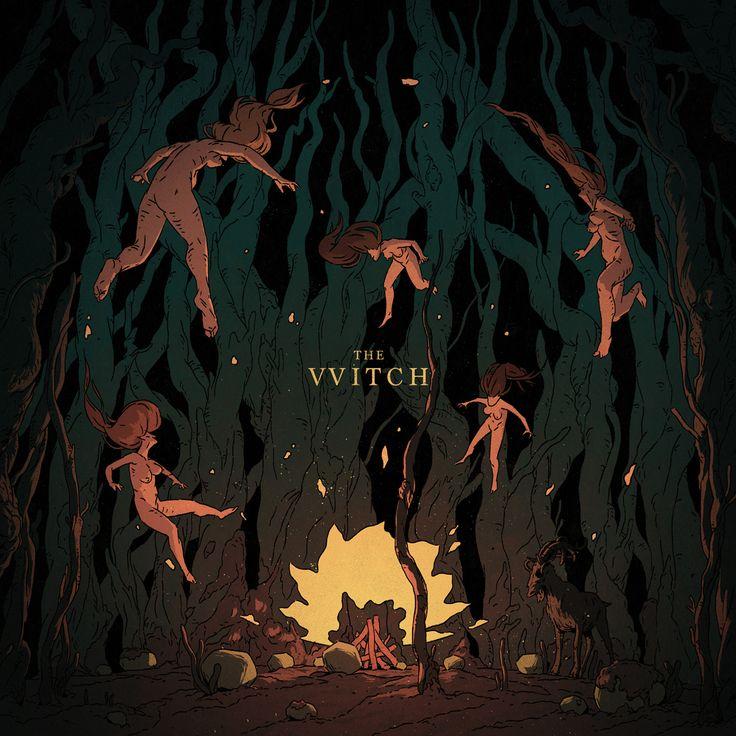 """다음 @Behance 프로젝트 확인: """"The Witch"""" https://www.behance.net/gallery/41378903/The-Witch"""