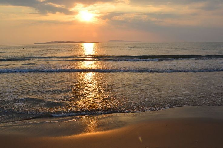Memorizing sunset in San Stefano #beach...