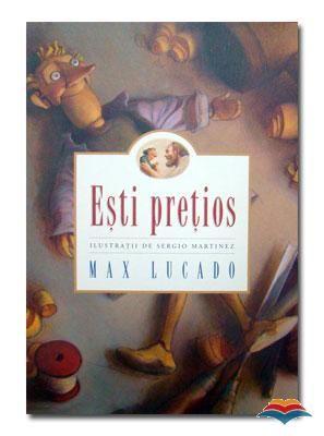 """Esti pretios - Max Lucado; Varsta:3+; Lumea spune copiilor nostri: """"Ai valoare daca... esti inteligent, arati bine sau esti talentat."""" Dumnezeu le spune: """"Esti pretios pur si simplu. Fara nicio alta conditie"""". Numai unul dintre aceste doua mesaje isi poate gasi locul in inimile lor. De aceea, fiecare copil ar trebui sa auda acest adevar, linistitor.  Incantatoarea poveste a lui Max Lucado, va va ajuta sa reamintiti copiilor acest lucru, iar si iar... cu dragoste."""