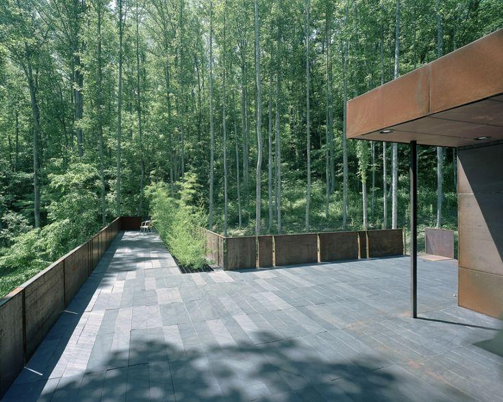 Mountain Tree Guest House | Dillard, Georgia | Mack Scogin Merrill Elam Architects | photo © Timothy Hursley