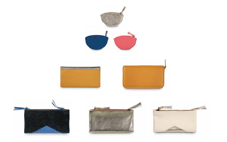 CITTA DESIGN / Winter 2012 Collection / Tokyo: Collision of Contrasts / Clutches & purses in leather or suede www.cittadesign.com