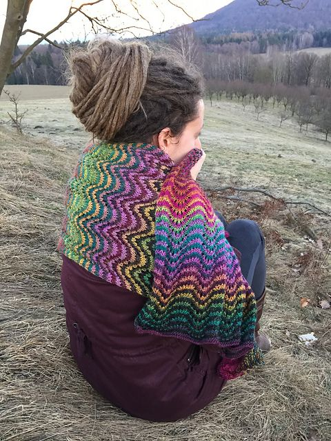 Ravelry: hanapaimen's Cheer up shawl