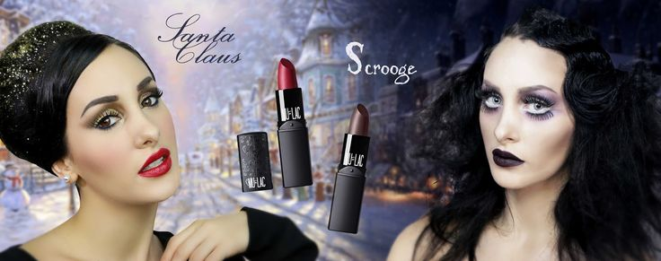 Sweety Reviews: [CS] Scrooge e Santa Claus, i due nuovi rossetti MULAC