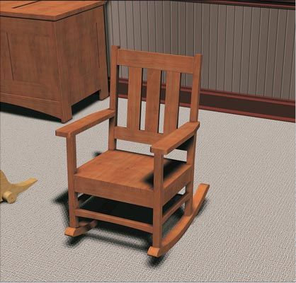 Furniture Plans  Blog Archive Childrens Rocking Chair