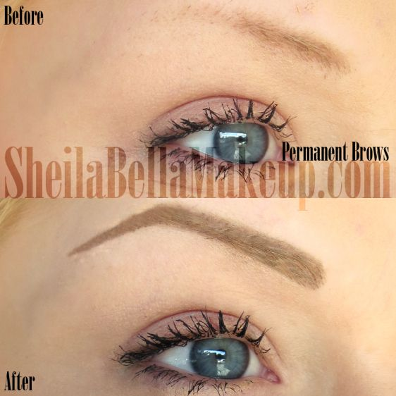 permanent makeup brows eyebrows