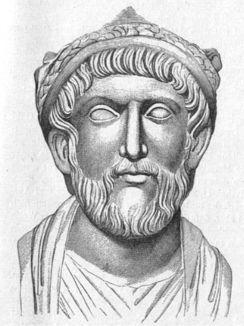 Au printemps 363, Julien se lança dans une vaste expédition militaire qui le mena victorieusement jusqu'à Ctésiphon, capitale des Perses. Mais il dut entamer une retraite, au cours de laquelle, le 26 juin 363, il fut mortellement blessé au cours d'un combat.