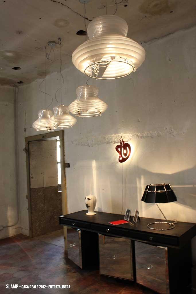 Slamp - Fuorisalone - Casa Reale - Faretto