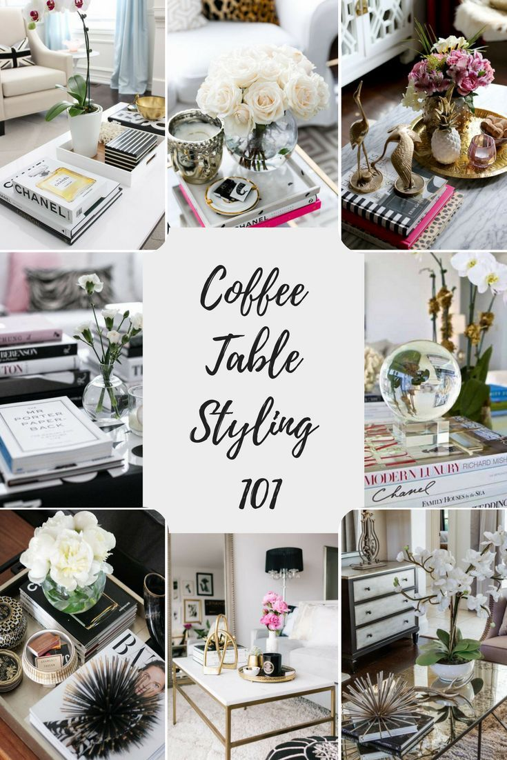 Coffee Table Styling 101: 6 Easy Steps to Coffee T…