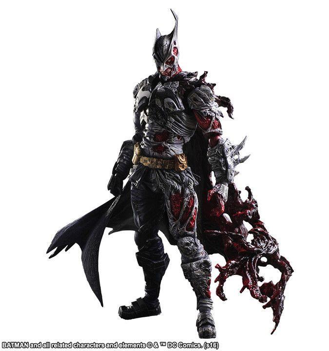 Batman Play Arts Kai PVC Action Figure Toy Two-Face 270mm Anime Movie Bat Man Playarts Kai Rogues Gallery