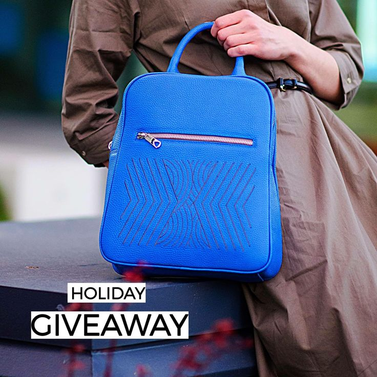 Blue leather bag #newcollection #iuttabags