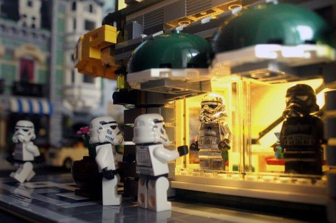 Stormtrooper Window Shopping.